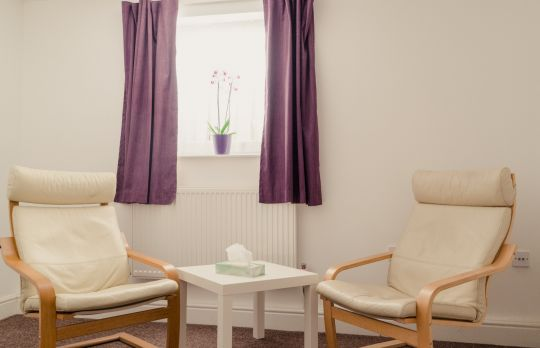 Consulting Room of Bexleyheath Registered Counsellor Deborah Cox
