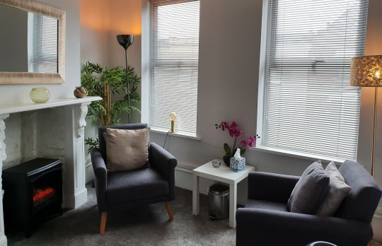 Consulting Room of London Registered Counsellor Melisha Lawrence