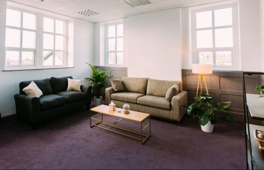 Consulting Room of Leeds Registered Counsellor Phil Martin