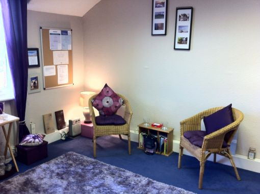 Consulting Room of Stockport Accredited and Registered Counsellor and Psychotherapist Karole Thomas