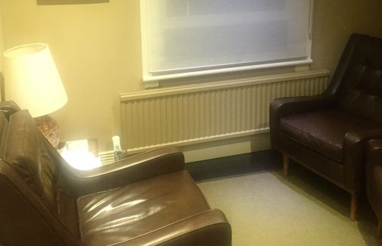 Consulting Room of London Registered Psychotherapist Paul Croal