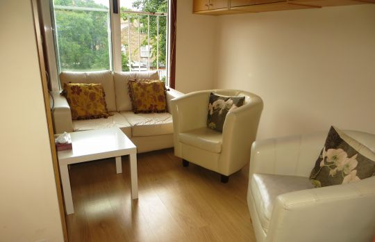 Consulting Room of London Accredited  Counsellor Malka Taub